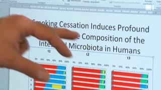 Gewichtszunahme - Machen Bakterien Ex-Raucher dick?
