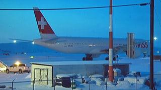 Swiss-Passagiere nach Zwischenlandung wieder unterwegs