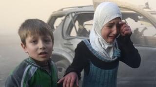Kinder leiden ganz besonders im Syrienkrieg