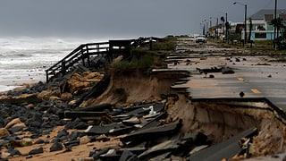 Hurrikan «Matthew» schrammt an Florida vorbei