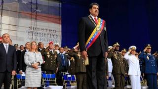 Festnahmen nach mutmasslichem Anschlag auf Venezuelas Präsidenten