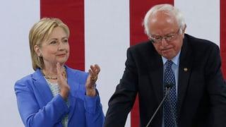 «Strategische Hochzeit» zwischen Sanders und Clinton