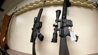 Obama will freien Verkauf von Sturmgewehren verbieten