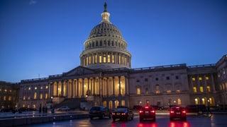 «Shutdown» in den USA bis nach Weihnachten