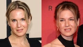 Schönheits-OP: Nur die Frisur erinnert noch an Renée Zellweger