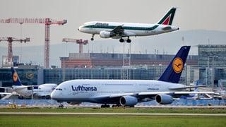 Lufthansa gibt Angebot für Teile von Alitalia ab
