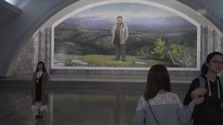 Nordkorea macht U-Bahn zur Touristenattraktion