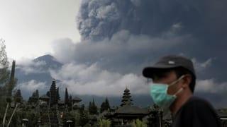 Höchste Alarmstufe auf der indonesischen Insel Bali