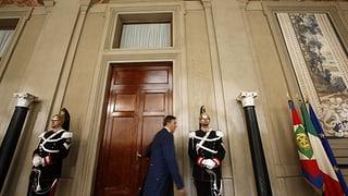 Napolitano fühlt den Parteien den Puls