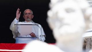 Franziskus: «Lasst Freude in euer Leben»