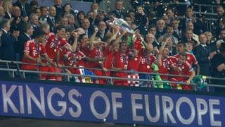 Robben schiesst die Bayern zum Champions-League-Titel