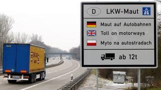 Deutschland weitet LKW-Maut auf Bundesstrassen aus