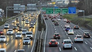 Fast sechs Millionen Fahrzeuge auf der Strasse