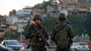 8500 Soldaten kämpfen gegen «Kriminalitätskrebs»