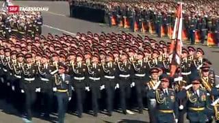 Russlands Machtdemonstration an Gedenkfeier