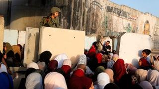 Künstliche Intelligenz soll Palästinenser überwachen