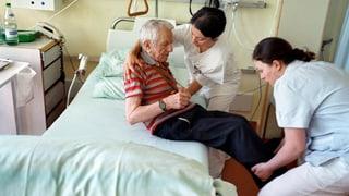 Aargauer Spitäler und Heime bilden mehr Pflegende aus