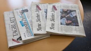 Chefredaktoren in St. Gallen und Luzern treten zurück