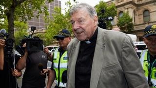 Australischer Kardinal George Pell verurteilt