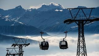 Die Bergbahnen in Crans-Montana bleiben auf unbestimmte Zeit zu