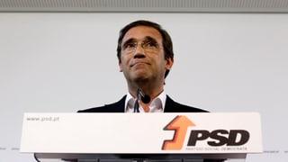 Portugals Premier räumt Schlappe ein