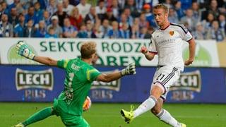 So gewann Basel auswärts in Posen mit 3:1
