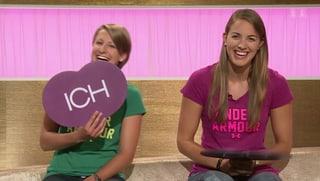Beach-Volleyballerinnen Tanja Goricanec und Tanja Hüberli (Artikel enthält Video)