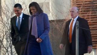 Auch Obamas neue Leibwache weiss, was Pannen sind