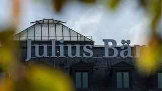 US-Steuerstreit drückt auf Gewinn von Julius Bär