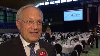 Johann Schneider-Ammann: «Meine Rede ging um die Welt»