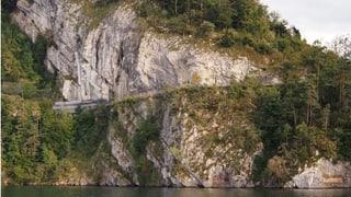 Kürzere Strassensperre zwischen Vitznau und Gersau (Artikel enthält Audio)