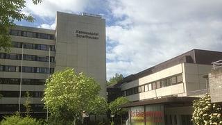 Die Zukunft des Schaffhauser Kantonsspitals entscheidet sich