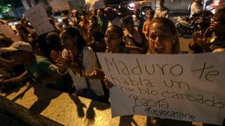 Opposiziun en la Venezuela annunzia protestas grondas