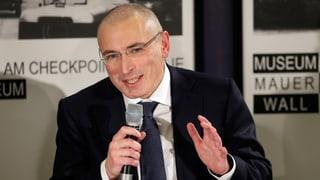 Chodorkowski geht mit der russischen Justiz hart ins Gericht