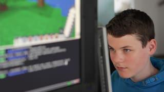 Programmieren lernen – mit Explosionen auf Knopfdruck