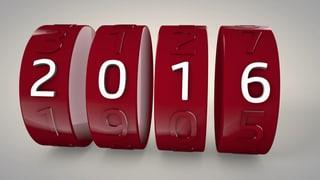 Auf ein Neues: Was sich 2016 ändert