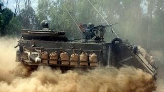 Israel bekämpft die Tunnelsysteme