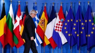 «Es braucht eine Grundsatzdiskussion in der EU»