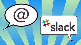Raute gegen Affenschwanz: «Slack» lässt E-Mail alt aussehen