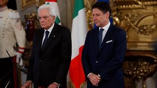 Neue italienische Regierung ist im Amt