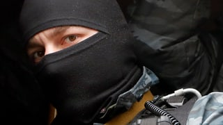 Deutschland hat die Sondereinheit Berkut trainiert