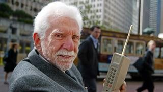 Erster Handy-Anruf  vor genau 40 Jahren
