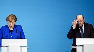 CDU, CSU und SPD haben sich auf ein gemeinsames Papier geeinigt. Konkrete Koalitionsverhandlungen sollen die Details klären.