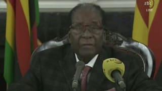 Demissiunar n'è betg in tema per Mugabe