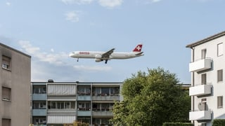 Der Zürcher Fluglärmindex steigt und steigt