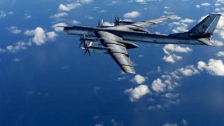 Russische Bomber provozieren am britischen Luftraum