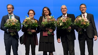 Ackermann schafft Sprung in die Regierung im ersten Wahlgang