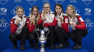 Die Schweizer Curlerinnen holen WM-Gold