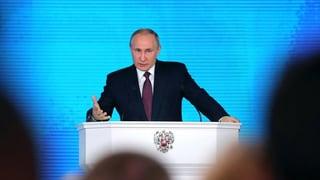 Putin gibt Entwicklung neuer Atomwaffen bekannt