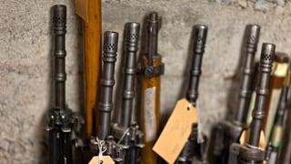 Viele Waffen sind nicht registriert